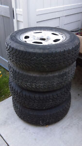 215-70R 15 tires and rims Goodyear Nordic Ice winter tires London Ontario image 1