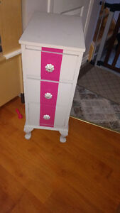 Wood bed side table Peterborough Peterborough Area image 1