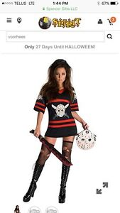 Women's large Miss Voorhees costume- Friday the 13th