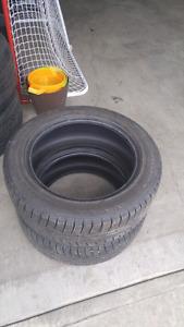 2 Nokian Hakkapeliitta tires