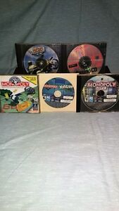 Assorted games on disks