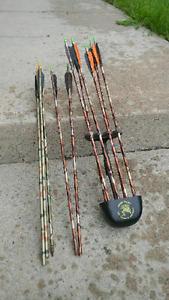 Quiver with 10 bolts / arrows