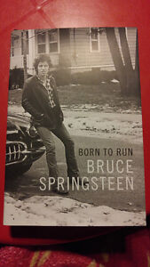 Bruce Springsteen- Born To Run- Hardcover- SIGNED 1st Edition