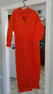 Mens new coveralls size large from Wearwell