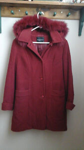 $20  worn once...too small......ladies winter coat  paid 129.