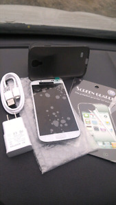 Samsung Galaxy S4 16GB Unlocked + Freedom 10/10