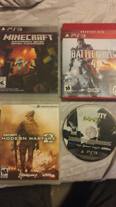 4 games for sale. $15 obo.