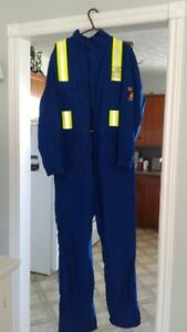 Fire Resistant Coveralls never worn size 46 Tall