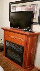 3 in 1 Fireplace,Tv Stand and Bar