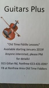 Old Time Fiddle Lessons!