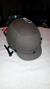 Brand New Bell Helmet With Removable Visor - Army Green - 14+