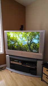 """Sony 50"""" TV with stand"""