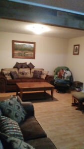 moving sale, selling a whole suite of furniture and house items