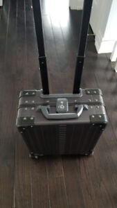 """Aleon 16"""" Vertical Underseat Carry-On Luggage"""