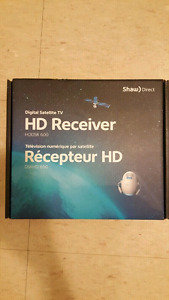 Two Shaw HD Receivers Model 600