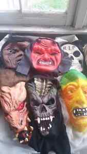 6 Great Halloween Masks $35 For *ALL* Peterborough Peterborough Area image 1