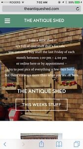 Friday -Antique Shed Sale