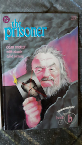 THE PRISONER Lot of 4 DC comics set 1989