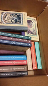 A Series of Unfortunate Events Hard Cover Set 1-13