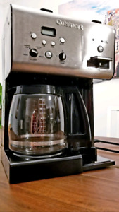 Almost New Cuisinart 12-cup Coffee Maker and Water Boiler