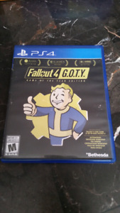 PS4 Fallout 4 : GOTY