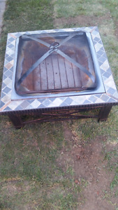 OUTDOOR FIREPLACE $80