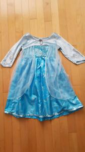 Costume halloween Reine des neiges Elsa fille gr. 1-3, 2T