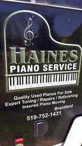 Piano moving experts