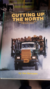 2 excellent books Logging Timber Canadiana Forestery History