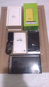 LG G5- H831 Unlocked. 4GB-32GB. Silver+Case. New open box