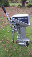 EVINRUDE 9.9HP OUTBOARD MOTOR 1988