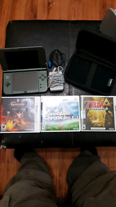 *NEW PRICE* New 3dsxl and games.