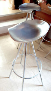 Stainless Steel tall stool