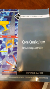 Core curriculum introductory craft skills text book