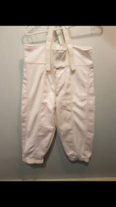 Fencing pants
