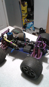 Traxxas T -MAX fully upgraded for top to bottom