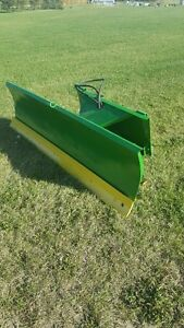 7 foot JD Hydraulic Blade with springs