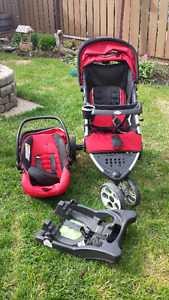 Excellent condition carseat and stroller package