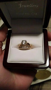 WORTH OVER $10,000!!! Beautiful Engagement Ring and Wedding Band