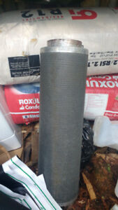 Large can filter and fan