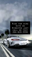 RIDE FOR HIRE $25 AND UNDER 204-819-3330.