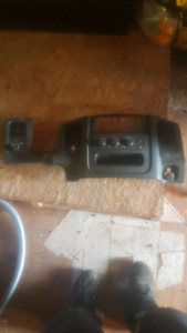 Heater controls and head light switch