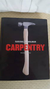 Carpentry Text book and work book $200 OBO