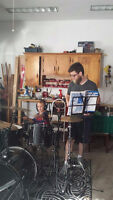 Drum lessons in your home!