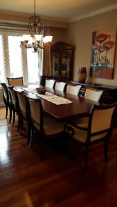 10 Chair Grand Dining Room Set