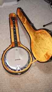 "Vintage ""early 70's"" Martin Sigma SB-5 5 String Banjo"