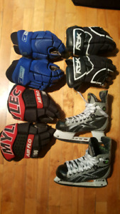 Hockey player equipement Bauer / Reebok / DR