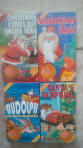 Christmas Classics VHS tapes-1993- rare-collectible