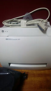 HP LaserJet 1100 with New high capacity toner cartridge