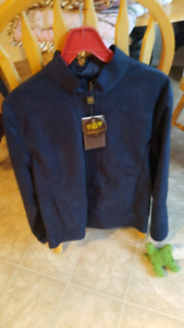 Brand new mens blue sued jacket
